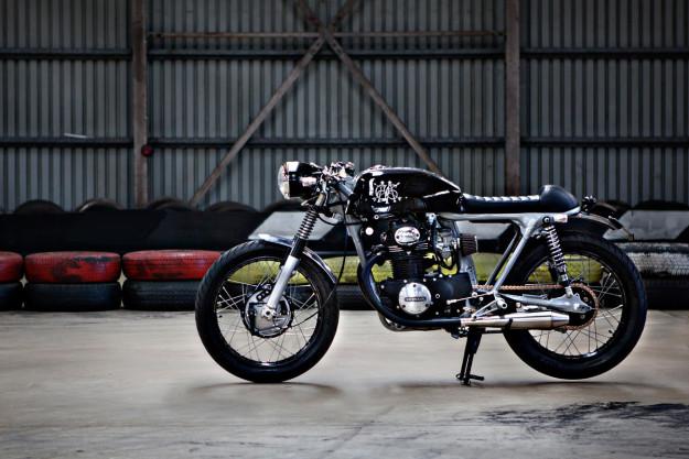 Honda CB350 đời 1971 độ Cafe Racer xứ sở Kangaroo