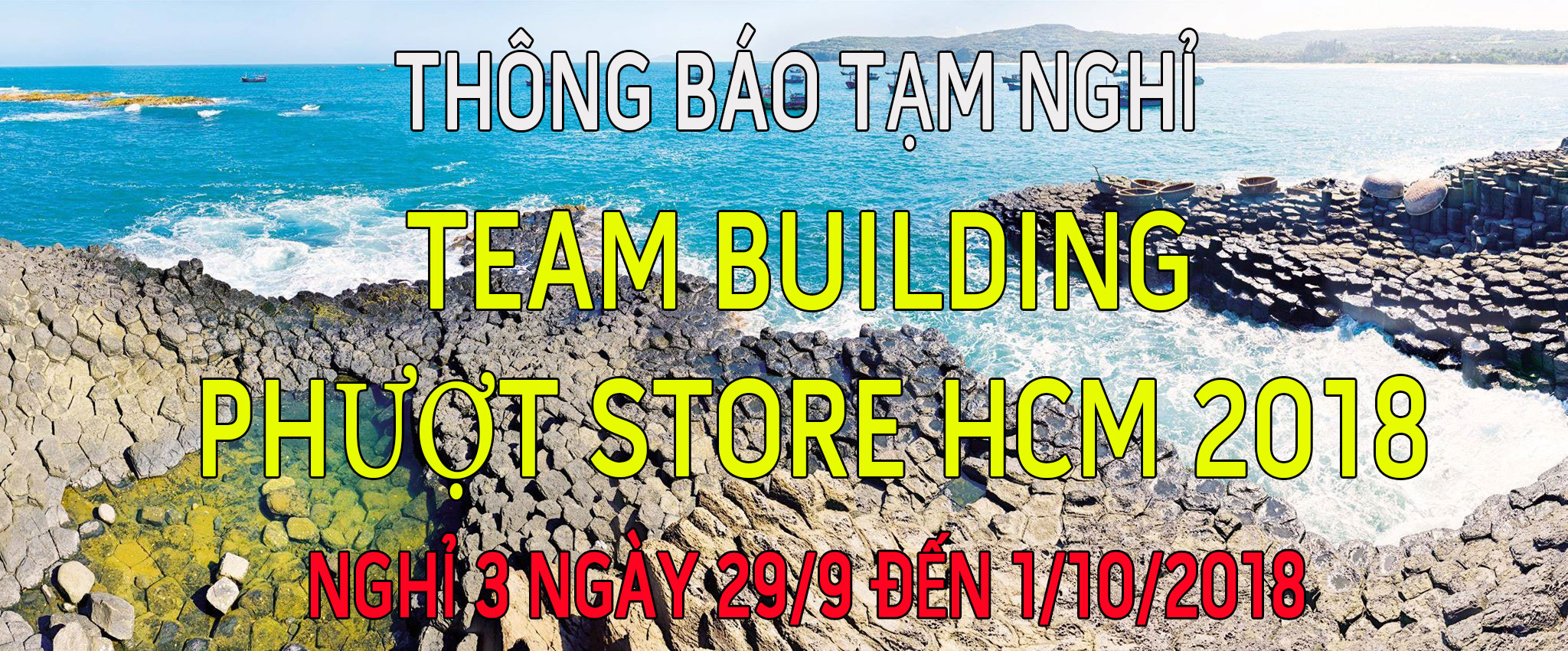 Team Building Phượt Store HCM 2018