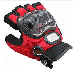 Găng tay Pro-biker cụt ngón (Đỏ)