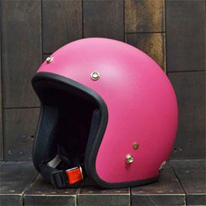Mũ bảo hiểm 3/4 Dammtrax hồng nhám