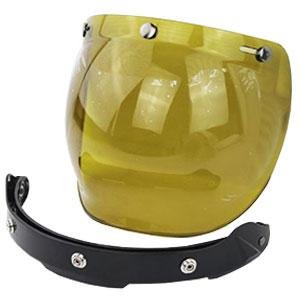 Kính cho mũ bảo hiểm 3/4 - Bubble vàng
