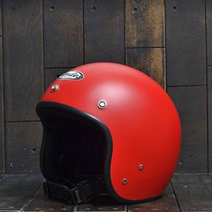 Mũ bảo hiểm 3/4 Andes 111 đỏ nhám