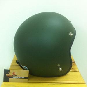 Mũ bảo hiểm 3/4 Dammtrax xanh lính (Việt Nam)
