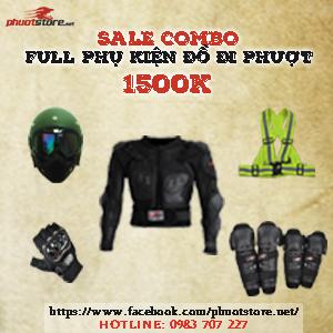 Sale Combo full phụ kiện đồ đi phượt
