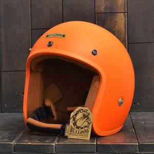 Mũ bảo hiểm 3/4 Bulldog cam nhám