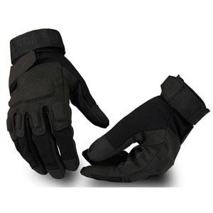 Găng tay Black Hawk dài ngón đen