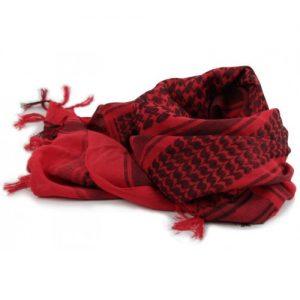 Khăn Ả Rập đỏ – đen (Loại Dày 190g)