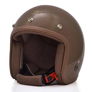 Mũ bảo hiểm Royal M20 nâu bóng