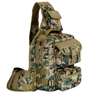 Túi đeo chéo Army rằn ri xanh lớn