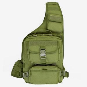 Túi đeo chéo Army xanh rêu lớn