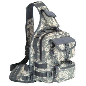 Túi đeo chéo Army rằn ri xám lớn
