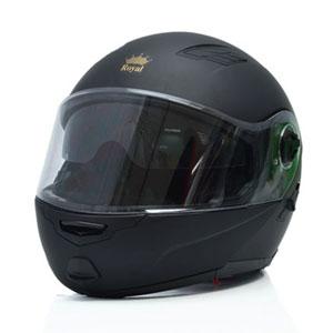 Mũ bảo hiểm lật cằm Royal M08 đen nhám