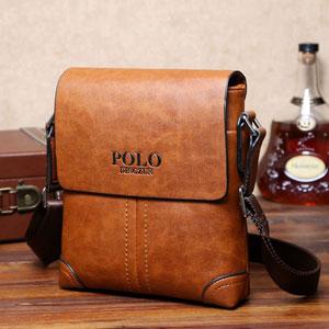 Túi đeo da Polo