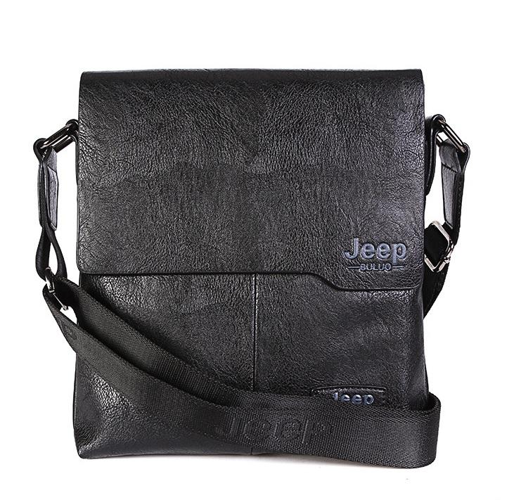 Túi đeo chéo nam Jeep Buluo (Đen)