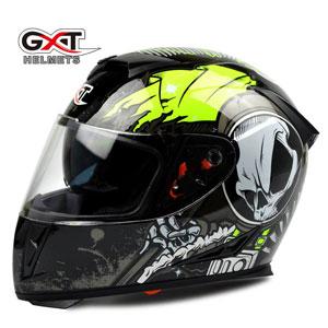 Mũ bảo hiểm fullface GXT 2016 tem đen xanh chuối
