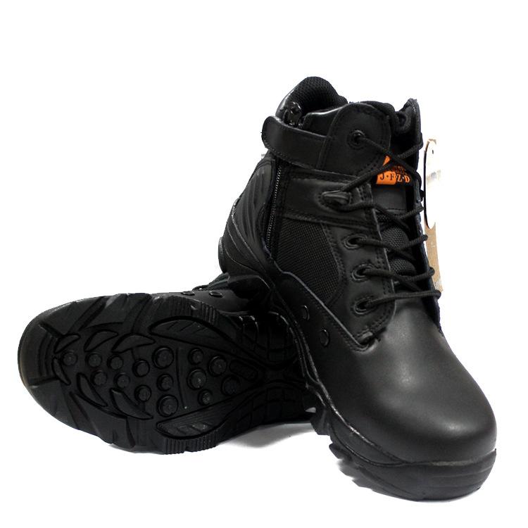 Giày đi phượt Delta đen cổ lửng