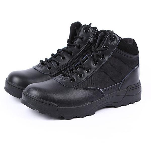 Giày đi phượt Original SWAT cổ lửng đen