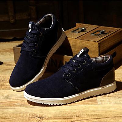Giày thời trang nam da lộn G04
