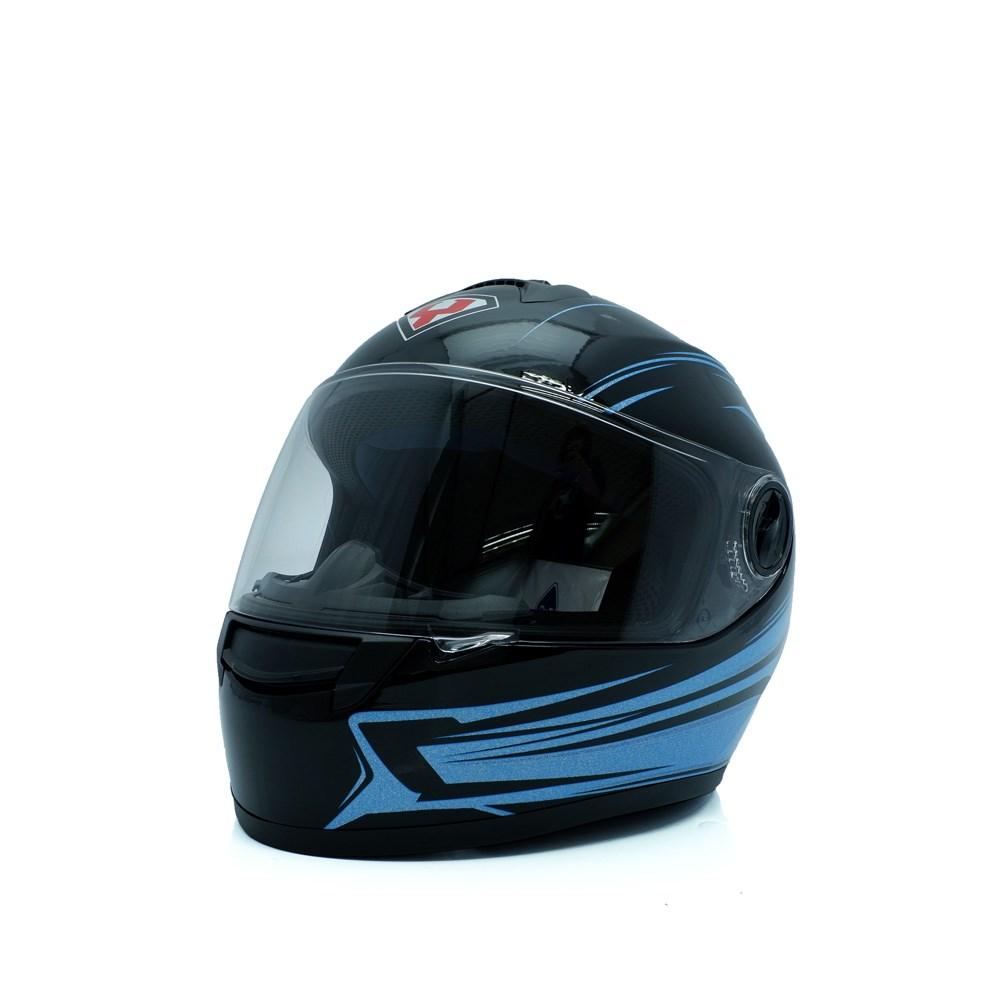 Mũ bảo hiểm yohe fullface 962 ( xanh dương )