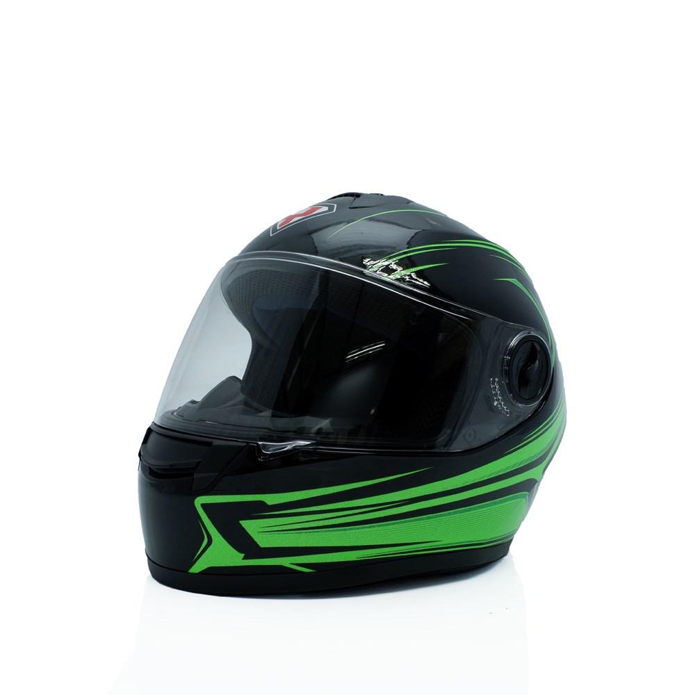 Mũ bảo hiểm yohe fullface 962 ( xanh lá )
