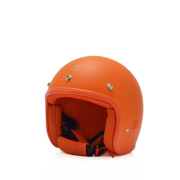 Mũ bảo hiểm trẻ em 3/4 M20s cam (nhám)