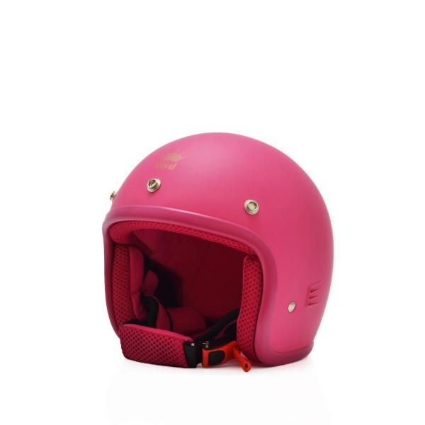 Mũ bảo hiểm trẻ em 3/4 M20s hồng (nhám)