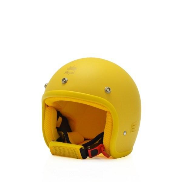 Mũ bảo hiểm trẻ em 3/4 M20s vàng (nhám)