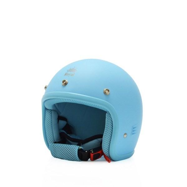 Mũ bảo hiểm trẻ em 3/4 M20s xanh lam (nhám)