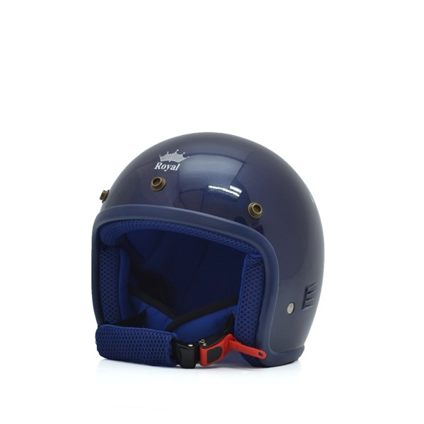 Mũ bảo hiểm trẻ em 3/4 M20s xanh mực (bóng)
