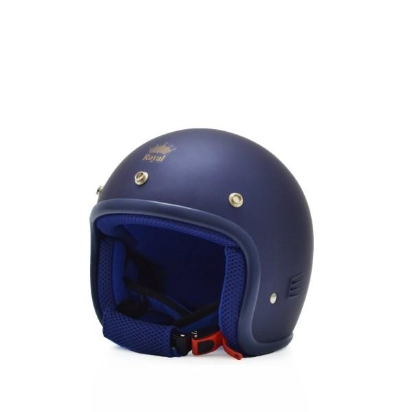 Mũ bảo hiểm trẻ em 3/4 M20s xanh mực (nhám)