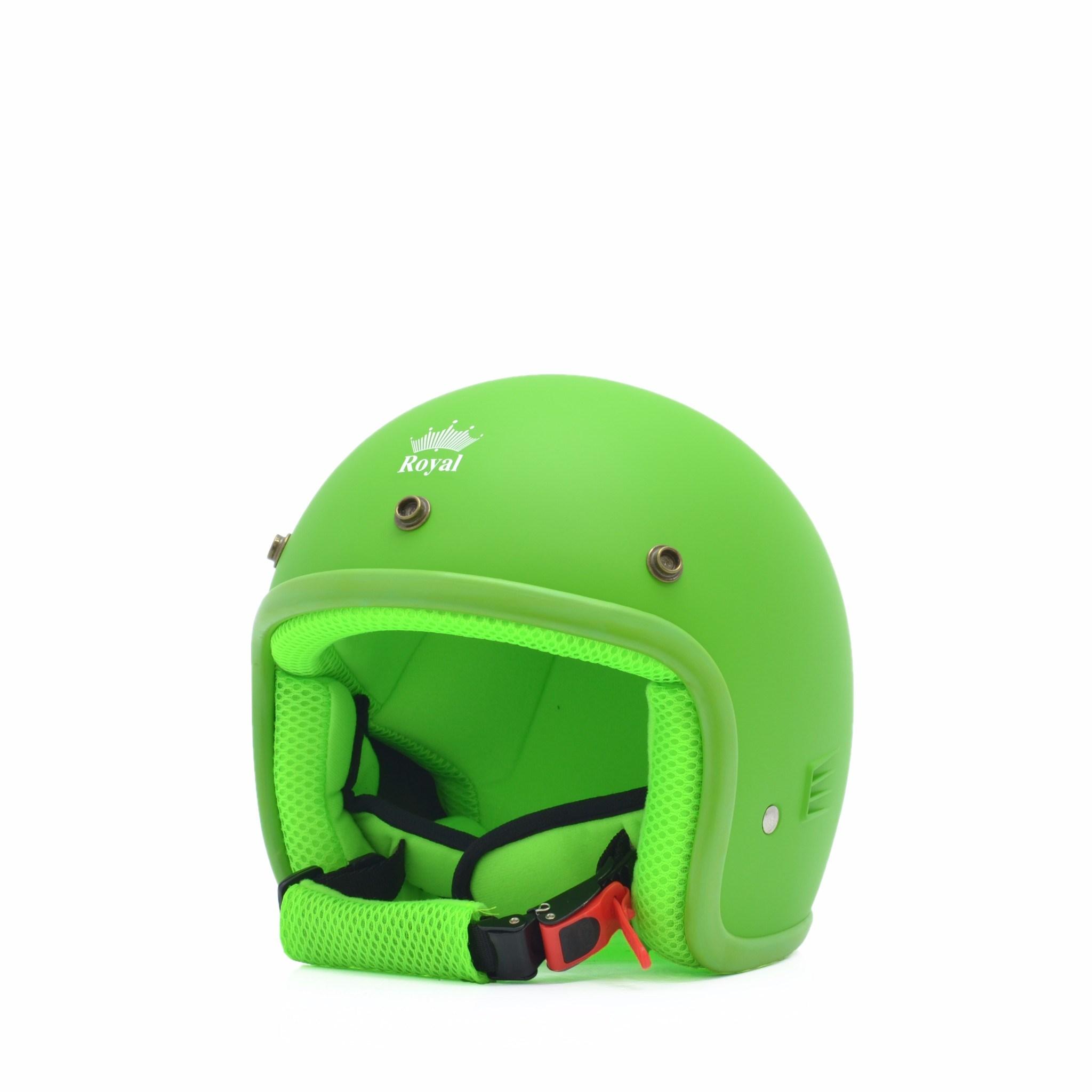 Mũ bảo hiểm trẻ em 3/4 M20s xanh nõn chuối (nhám)