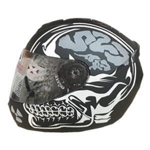 Mũ bảo hiểm Fullface LS2 FF352 2016 đầu lâu trắng đen