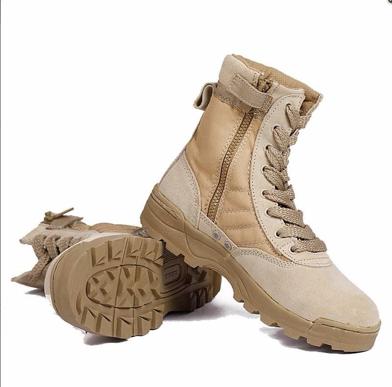 Giày đi phượt Original SWAT cao cổ (màu nâu)