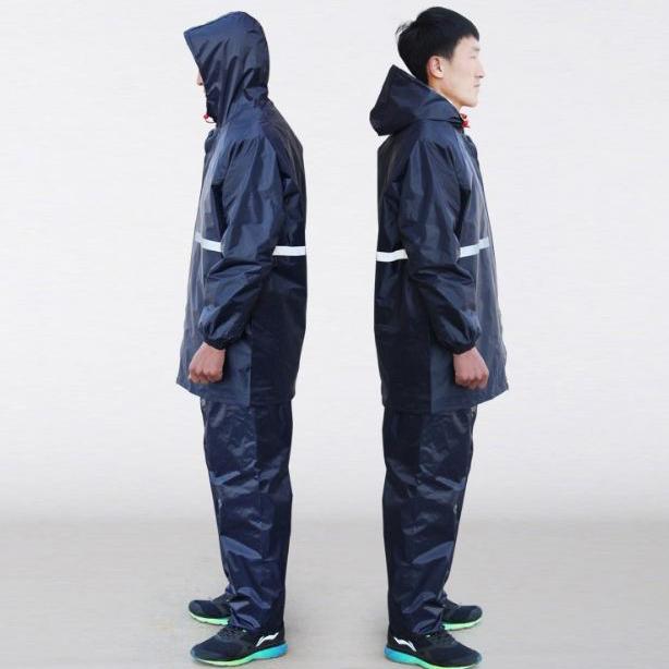 Áo mưa bộ đi phượt loại 1