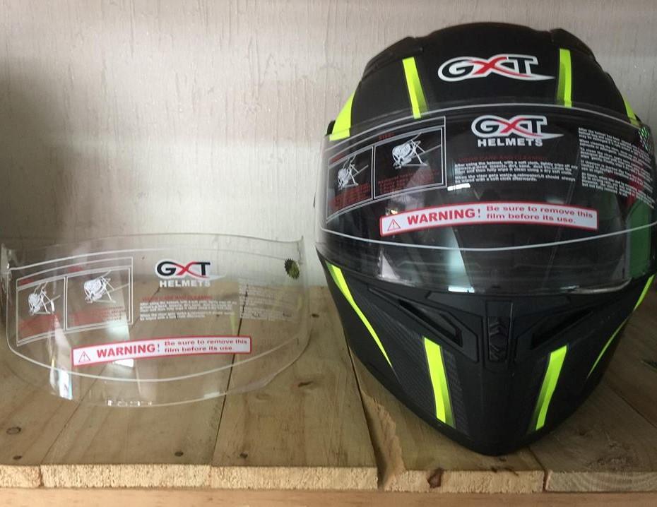 Kính mũ bảo hiểm fullface lật cằm GXT 902 2017 ( kính trong )