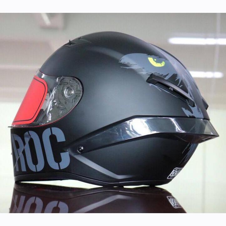 Mũ bảo hiểm fullface ROC Restra đen