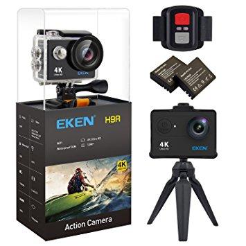 Camera hành trình giá rẻ Eken H9R quay 4k Wifi