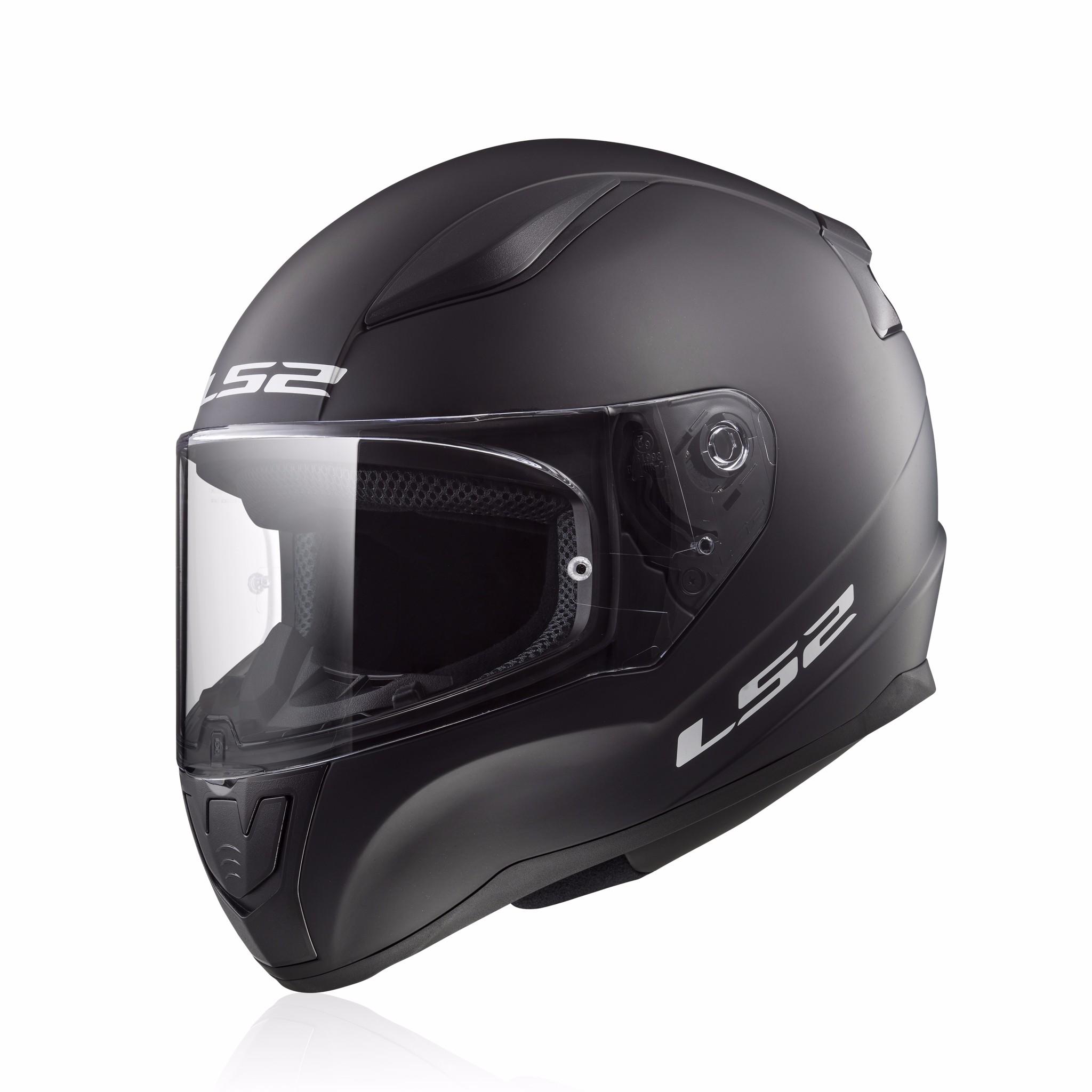 Mũ bảo hiểm fullface LS2 Rapid FF353 đen nhám