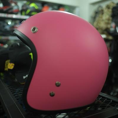 Mũ bảo hiểm 3/4 hồng nhạt