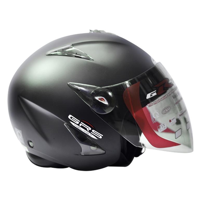 Mũ bảo hiểm 3/4 có kính GRS A27k