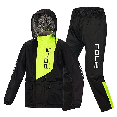 Bộ quần áo mưa Pole Racing