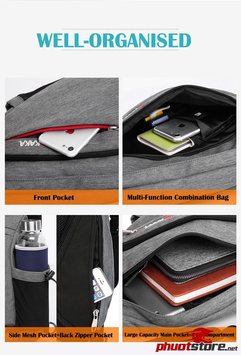 Túi đeo chéo KAKA chính hãng T101