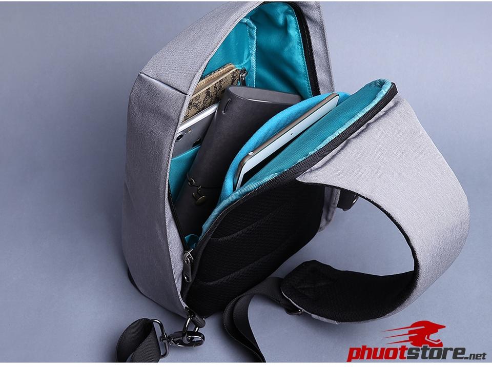 Túi đeo chéo nam nữ cao cấp,Hàng chính hãng KAKA T102