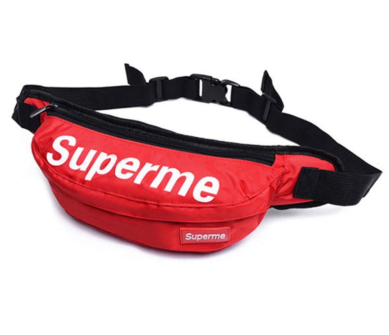 Túi bao tử, túi đeo bụng superme (màu đỏ)