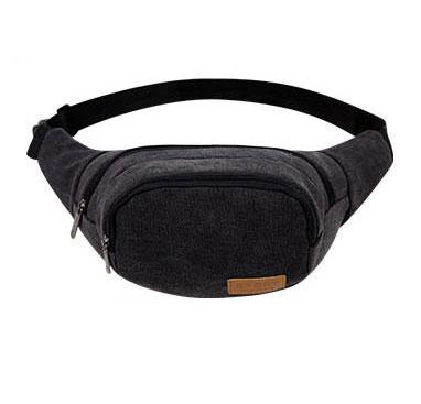 Túi bao tử, túi đeo bụng 03 (màu đen)