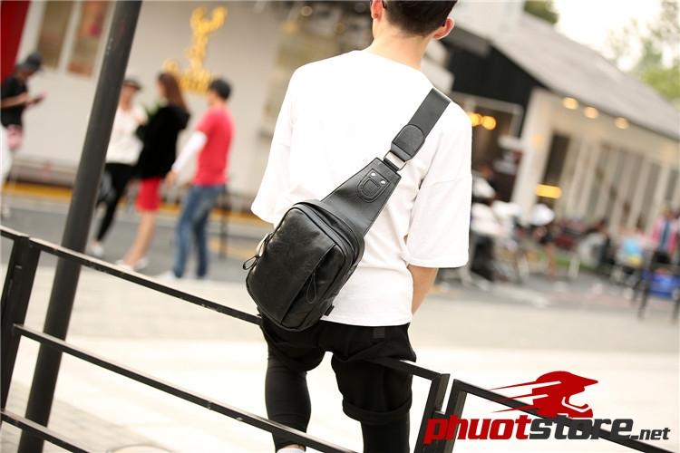 Túi đeo chéo da nam đẹp nhất TC20