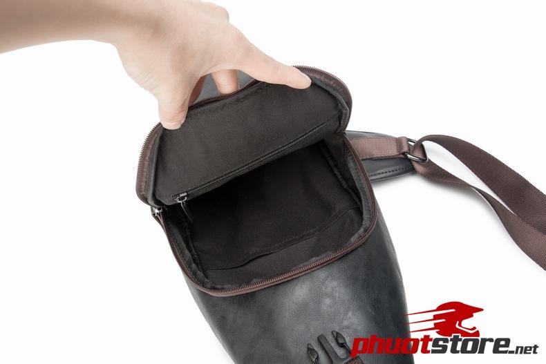 Túi đeo chéo da nam cao cấp sang chảnh TC28