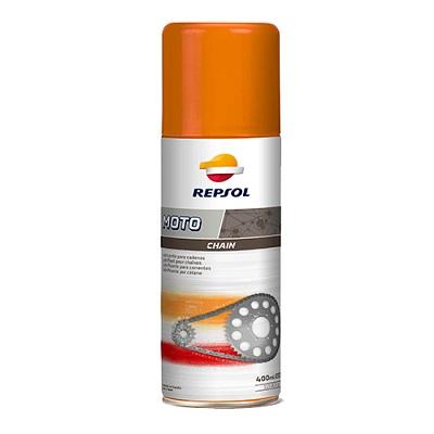 Chai xịt bảo dưỡng bôi trơn sên xe Repsol Moto Chain Lube 400ml
