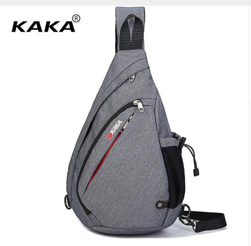 Túi đeo chéo KAKA chính hãng TC12 (Màu xám)