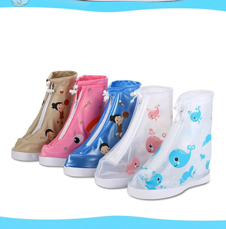 Bọc giày đi mưa in hình siêu dễ thương